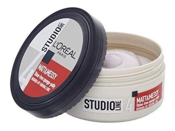 Pasta Loreal Studio Line Matt Messy Hair 150ml