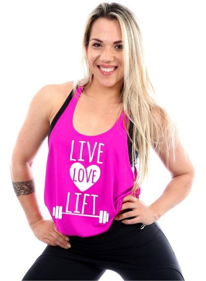 Regata Cavada Live Love Lift Fitness Feminina