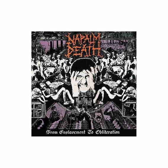 Napalm Death From Enslavement To Obliteration Usa Lp Vinilo