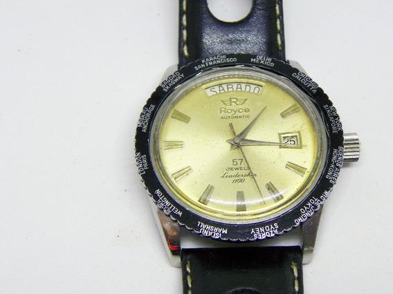 Reloj Royce Leadership 1100, Automático 57 Joyas