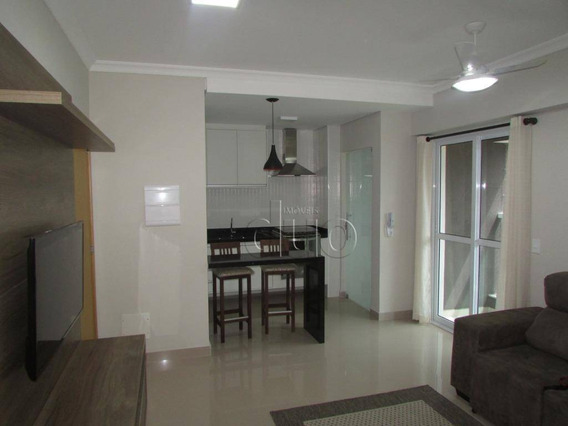 Apartamento Com 1 Dormitório Para Alugar, 54 M² Por R$ 1.600,00/mês - Centro - Piracicaba/sp - Ap3025