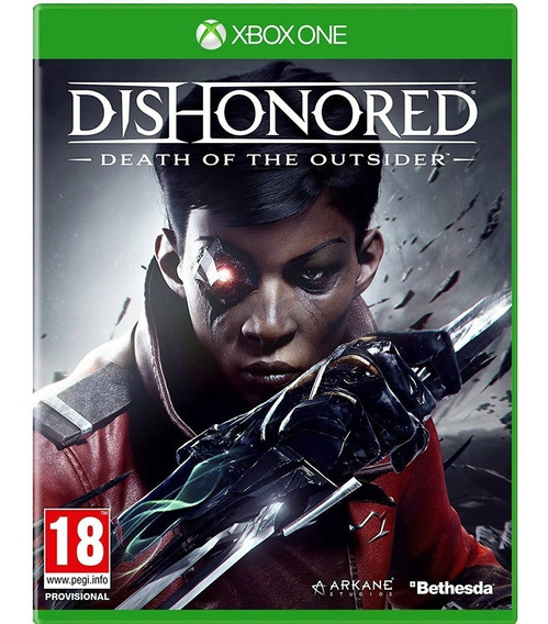 Jogo Xbox One Dishonored Death Of The Outsider Mídia Física