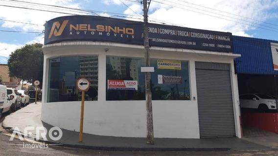 Salão Comercial Com Excelente Localização Em Uma Das Principais Avenida De Bauru, Ótimo Para Estacionamento - Sl0037