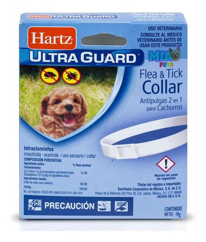 Imagen 1 de 7 de Collar Anti Pulgas 2 En 1 Cachorros Hartz Pulga Garrapata