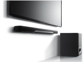 Soundbar Wireless 200w Bivolt Com Bluetooth Yamaha Yas-207