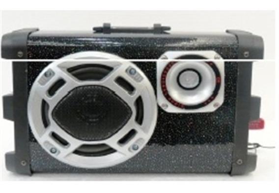 Toca Radio Fm Som 30w Amplificada Bluetooth Mp3 Usb Controle
