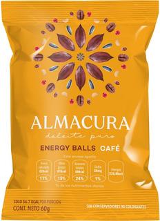 Energy Ball Almacura Café 60g