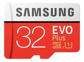 Cartão Micro Sd Sdhc Samsung Evo 32gb Class 10 95mb/s Uhs-i
