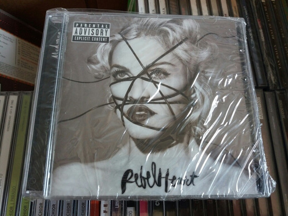 Cd Madonna - Rebel Heart - Deluxe - Tiragem Aa - Lacrado