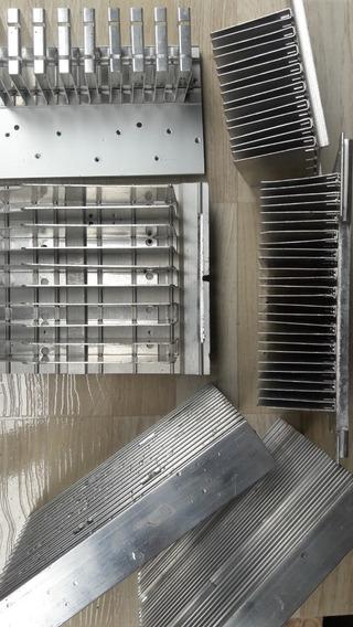 6 Dissipadores De Calor Alumínio-dissipador P/ Amplificador