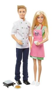 Barbie Barbie Set De 2 Muñecos Barbie Y Ken