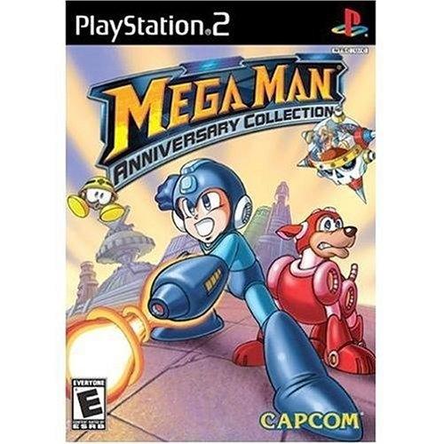 Mega Man Anniversary Collection Ps2 Mídia Física