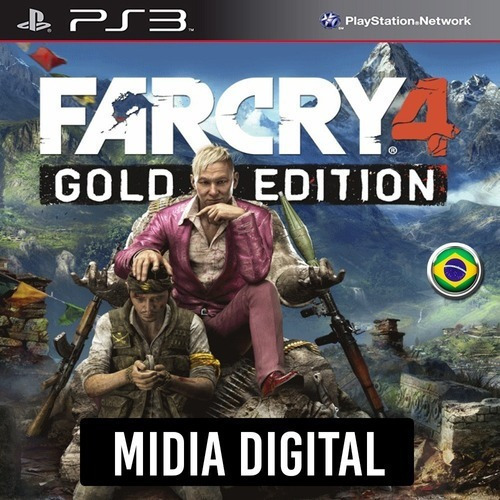 Imagem 1 de 6 de Far Cry 4 Gold Edition + Dlcs Ps3 Psn.