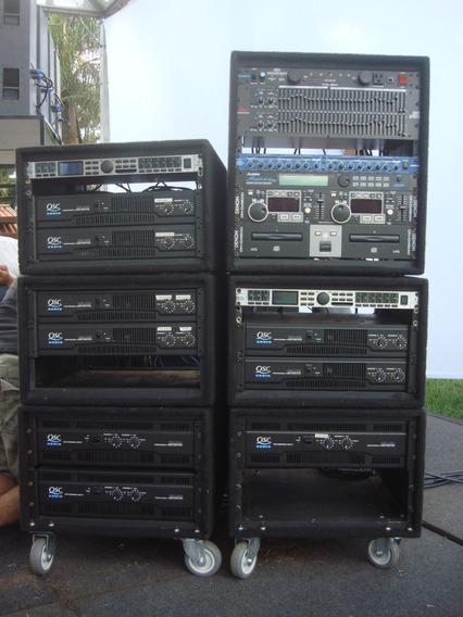 Amplificador Som Profissional Qsc Rmx 5050 5000 Wrms