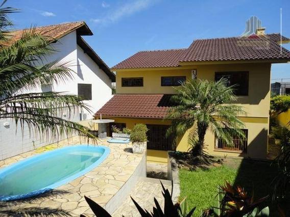 Casa Residencial À Venda, Chácara Das Pedras, Porto Alegre. - Ca0356