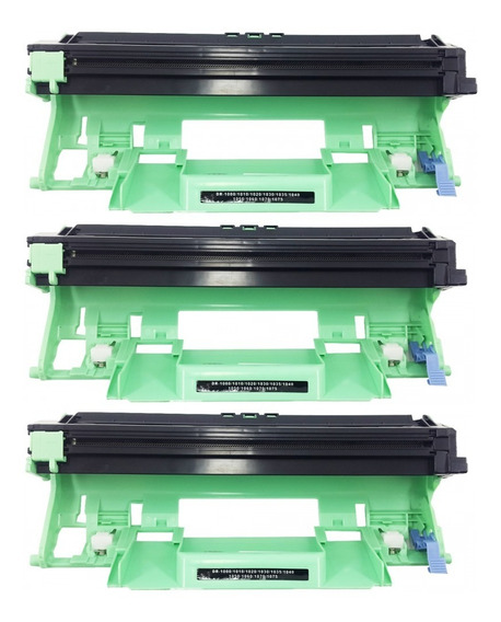 Kit 03 Fotocondutor Brother Compativel Dr1000 1060 1070
