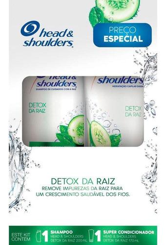 Kit Head & Shoulders Shampoo 200ml+super Condicionador 170ml