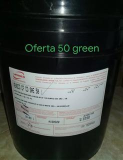 Paila De Aceite Diésel 50 Y Mineral 20w50¡ Ofera(50verd.s)!!