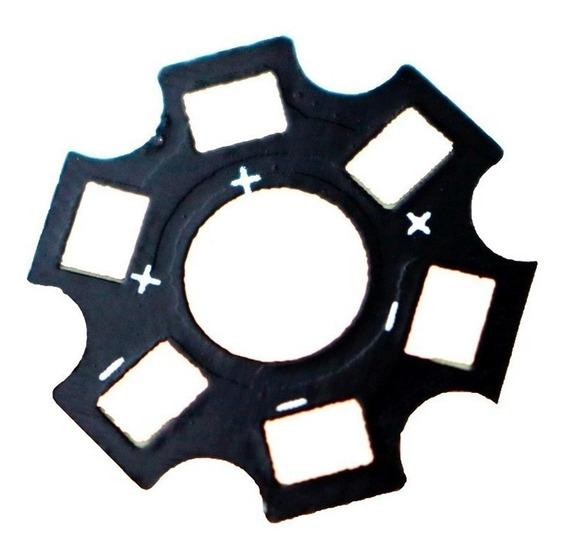 Dissipador Estrela Led 20mm Preto P/ Led 1w ~3w -- 1 Unidade