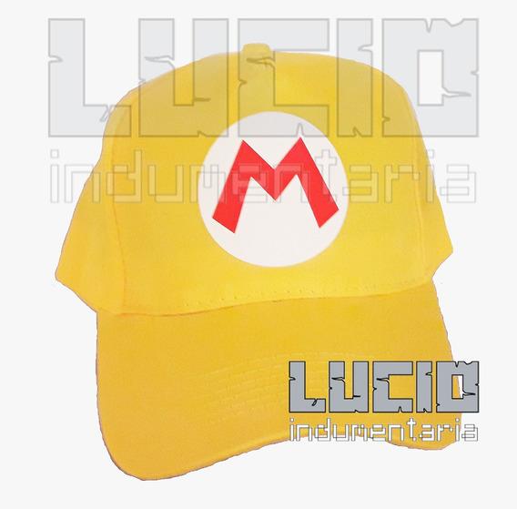 Gorra Mario Bros Maker