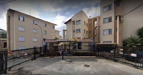 Imagem 1 de 14 de Apartamento Com 2 Dormitórios Para Alugar, 50 M² Por R$ 1.005,00/mês - Jardim Valéria - Guarulhos/sp - Ap0875
