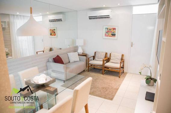 Apartamento Com 2 Dormitórios À Venda A Partir R$ 121.200 - Centro - Caucaia/ce - Ap0050