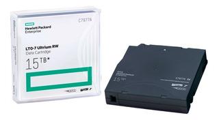Cartucho Datos 15 Tb Regrabable 700 Mb/seg C7977a Hp