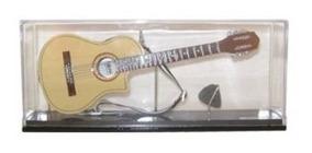 Miniatura De Violão Flat Elétrico No Acrilico