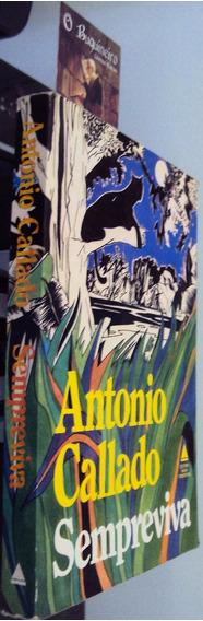 Sempreviva - Antonio Callado - Autografado