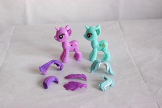 My Little Pony Pop Twilight + Lyra Crea Tu Pony Usados