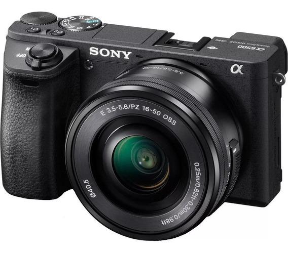 Câmera,kit Mirrorless Alpha A6500 16-50 C/n.f.e Seguro Envio