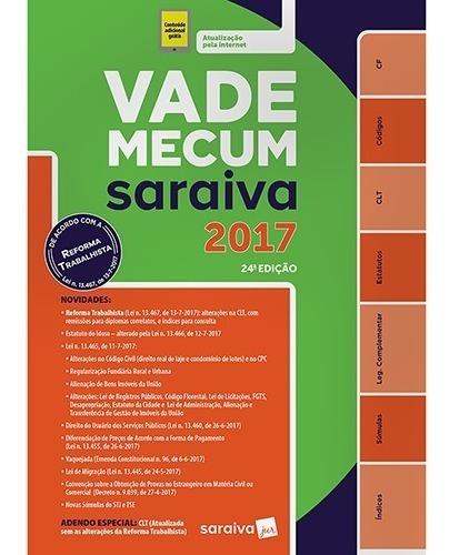 Vade Mecum Tradicional Saraiva - 24ª Ed. 2017