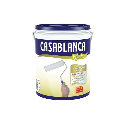 Fijador Al Agua Concentrado Casablanca X 10lts Pintumm