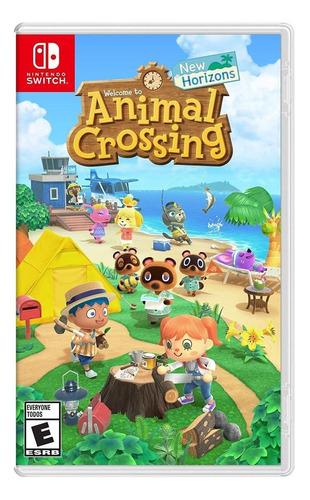 Imagen 1 de 5 de Animal Crossing: New Horizons Standard Edition Nintendo Switch  Físico