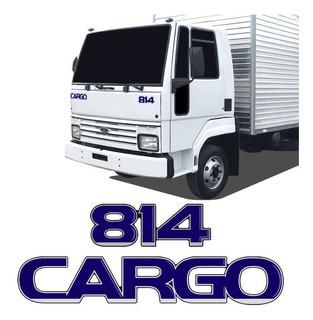 Kit De Emblema Adesivo Caminhão Ford Cargo + 814 Resinado