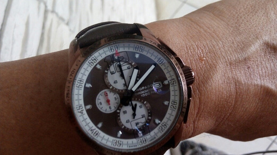 Relógio Chopard Swiss 100 % Original Chrono 1000 Miglia
