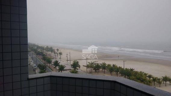 Apartamento Com 3 Dormitórios À Venda, 80 M² Por R$ 345.000 - Vila Mirim - Praia Grande/sp - Ap2308