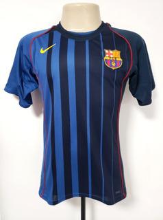 Camisa Futebol Oficial Barcelona Espanha 2004 Away Nike P