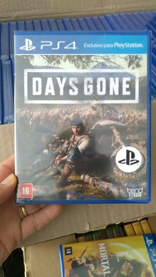 Days Gone Ps4 Lacrado Midia Física