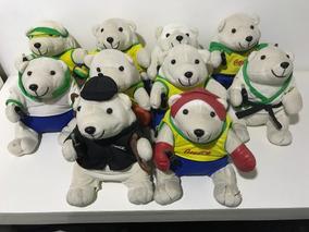 Ursinhos De Pelúcia Coca-cola Olimpíadas - Coleção Completa