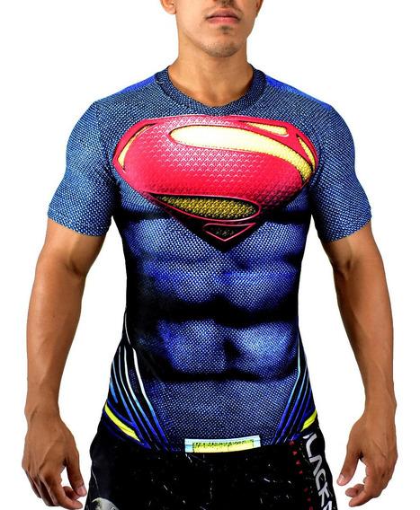Camisa Compressão 3d / Capitão America Marvel Os Vingadores