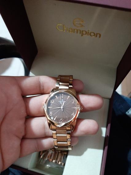 Relógio Champion Elegance Rose