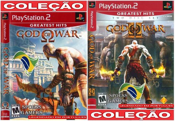 God Of War 1 E 2 Ps2 Legendado (2 Dvds) Patch