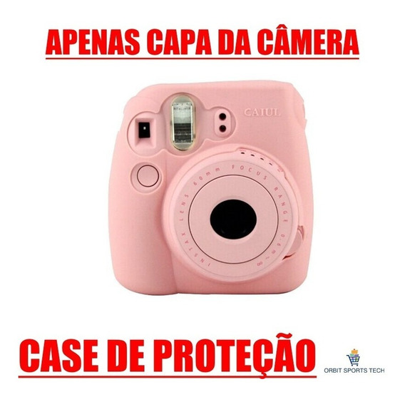 Case Capa Protetora Camera Nova Fuji Fujifilm Instax Mini 8