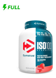 Whey Protein Isolate Iso 100 Isolado Dymatize 2,3kg (5 Lbs)