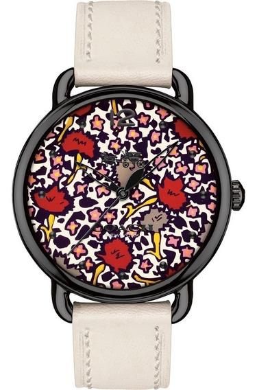 Reloj Coach Delancey Floral 14502729 Dama, Original