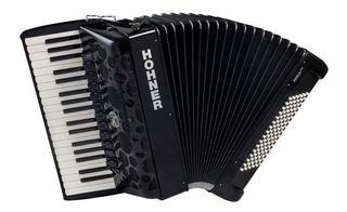 Ftm Acordeon A Piano Hohner Anica Iv 96 Bajos 37 Teclas Negr
