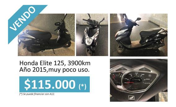 Honda Elite 125 Muy Poco Uso.
