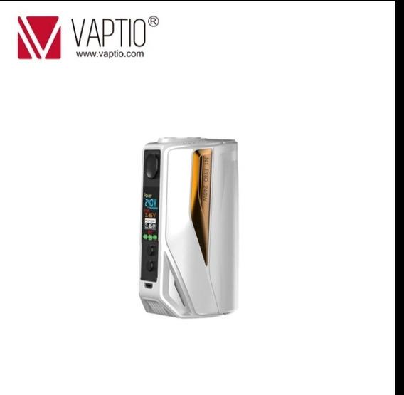 Vape Mod Box 240w Branco+dourado Frete Grátis Com Bateria Lg