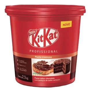 Novo Creme De Kitkat Nestlé - 2,1kg - Uma Delícia